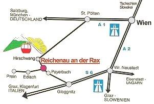 Hol található Reichenau an der Rax?