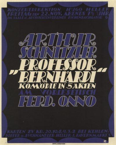 Plakat Prof Bernhardi