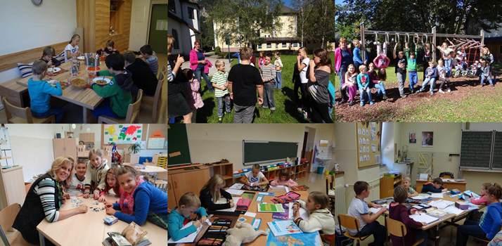 Nachmittagsbetreuung in der Volksschule Reichenau.