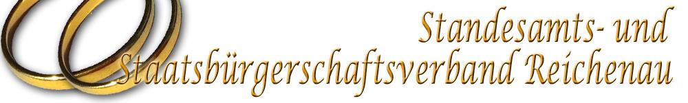 Zur Startseite von des Standesamts- und Staatsbürgerschaftsverbandes Reichenau