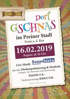 Foto zur Veranstaltung Dorfgschnas im Preiner Stadl