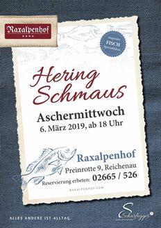 Foto zur Veranstaltung Heringschmaus im Hotel Raxalpenhof