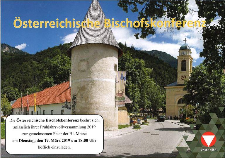 Foto zur Veranstaltung Österreichische Bischofskonferenz - Feier der Hl. Messe