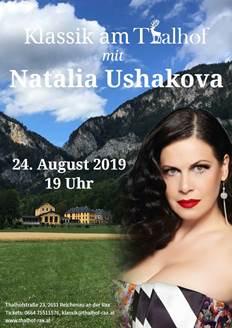 Foto zur Veranstaltung Konzert von Natalia Ushakova im Thalhof