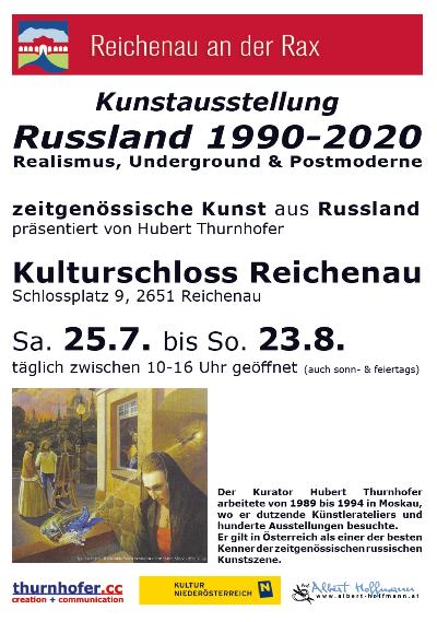 """Foto zur Veranstaltung Kunst-Ausstellung im Schloss Reichenau """"Russland"""""""