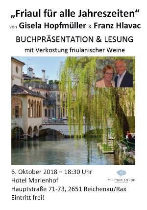 Foto zur Veranstaltung Buchpräsentation von Gisela Hopfmüller & Franz Hlavac
