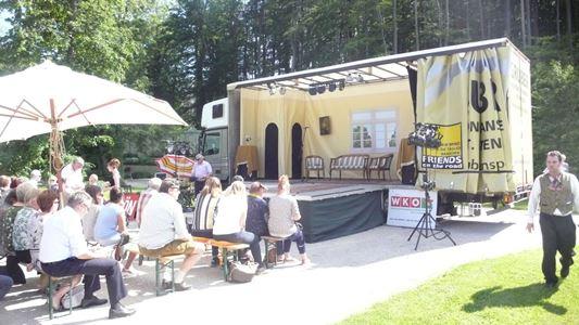 Foto zur Veranstaltung Das Lastkrafttheater im SommerSalon Wartholz