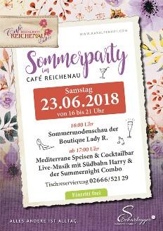 Foto zur Veranstaltung Sommerparty und Modenschau im Café Reichenau