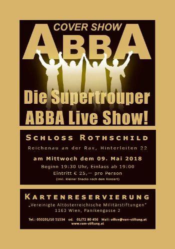 """Foto zur Veranstaltung AUSVERKAUFT - Benefizkonzert """"ABBA"""""""