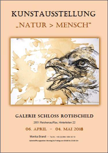 """Foto zur Veranstaltung Kunstausstellung """"Natur > Mensch"""" in der Galerie Rothschild"""