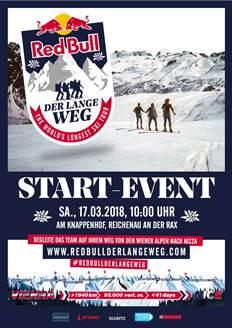 Foto zur Veranstaltung RedBull - Der lange Weg - Start-Event am Knappenhof
