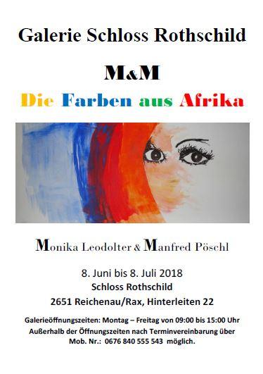 """Foto zur Veranstaltung Kunstausstellung M & M """"Die Farben aus Afrika"""""""