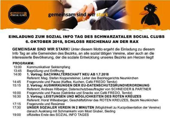 Foto zur Veranstaltung Sozial-Infotag im Schloss Reichenau