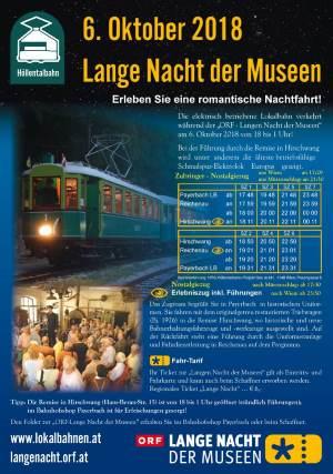 """Foto zur Veranstaltung """"Die Lange Nacht der Museen"""" bei der Höllentalbahn"""