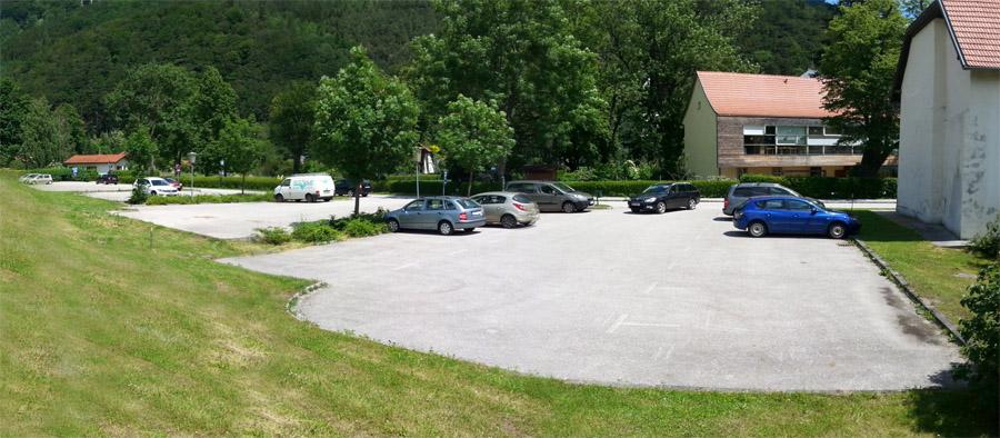 Parkplätze in unmittelbarer Nähe